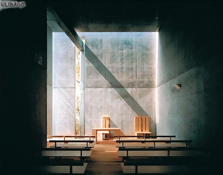 Тадао Андо Церковь Света 3