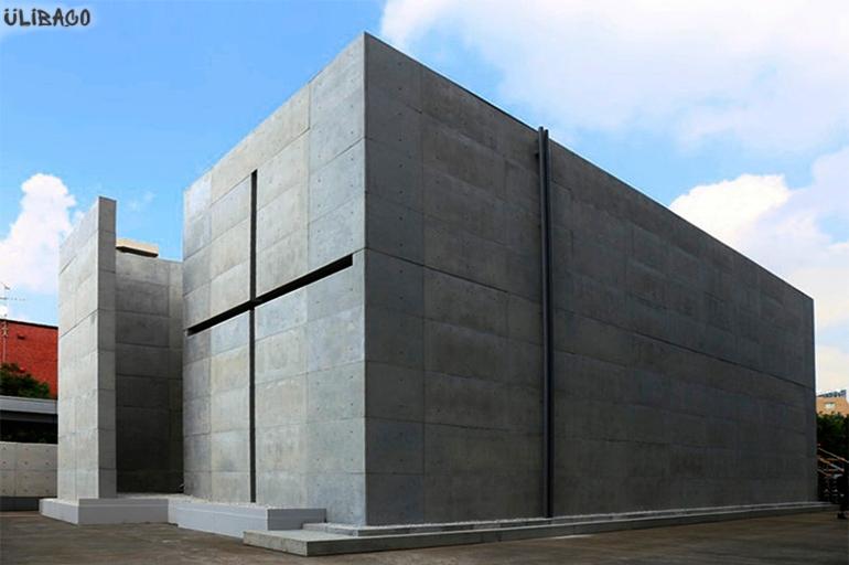 Тадао Андо Церковь Света 5