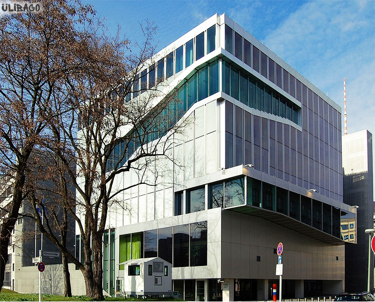 Рем Колхас Посольство Нидерландов в Берлине 1