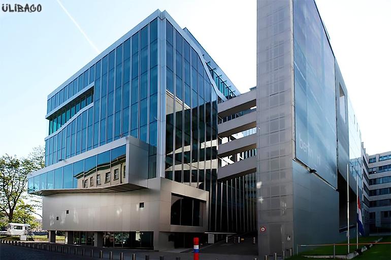 Рем Колхас Посольство Нидерландов в Берлине 3