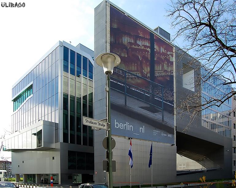 Рем Колхас Посольство Нидерландов в Берлине 4