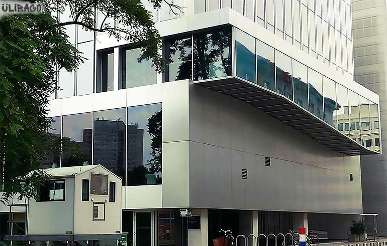Рем Колхас Посольство Нидерландов в Берлине 5