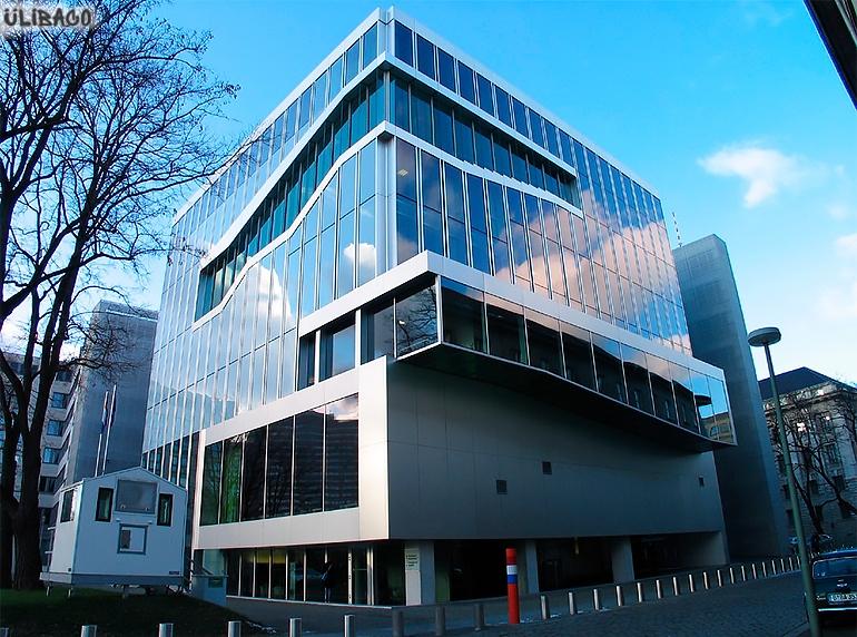 Рем Колхас Посольство Нидерландов в Берлине 6