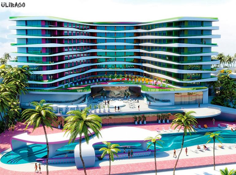 Карим Рашид Temptation Cancun Resort 1