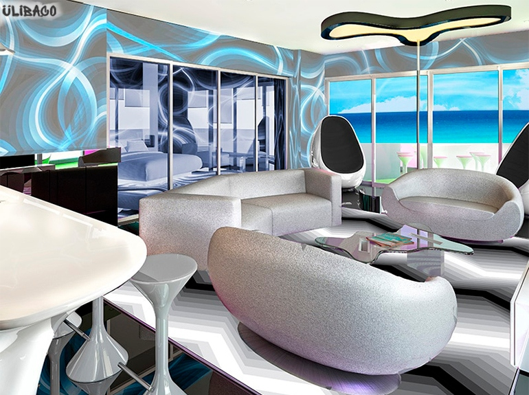 Карим Рашид Temptation Cancun Resort 4