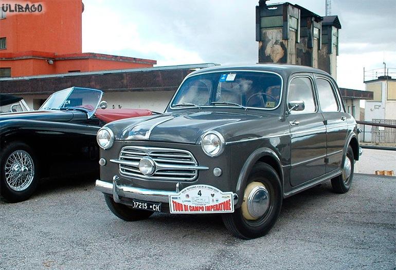 Луиджи Колани FIAT Nuova-1100 1