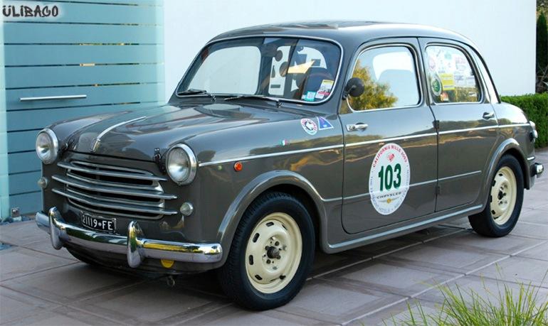 Луиджи Колани FIAT Nuova-1100 2