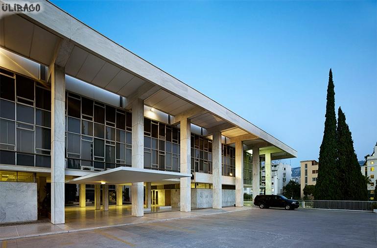 Вальтер Гропиус Американское посольство Афины 2