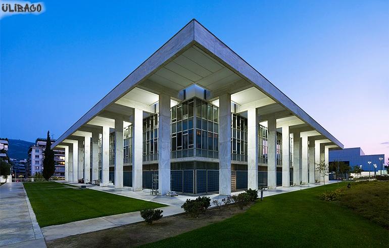 Вальтер Гропиус Американское посольство Афины 3