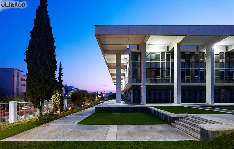 Вальтер Гропиус Американское посольство Афины 4