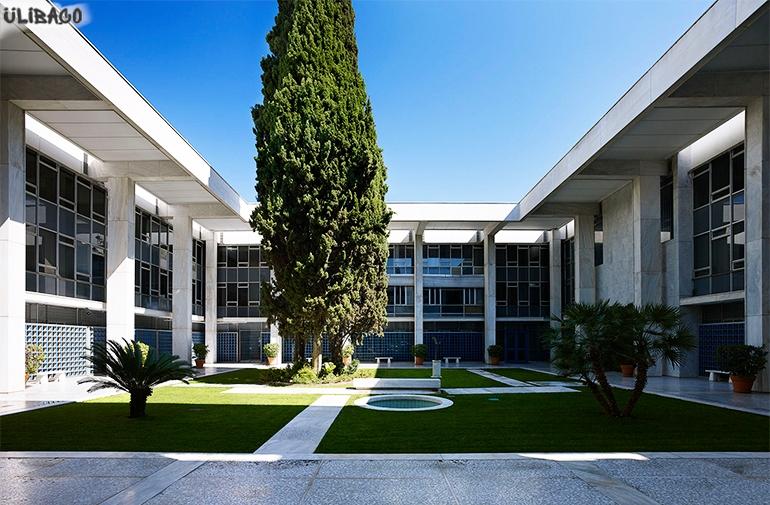 Вальтер Гропиус Американское посольство Афины 5