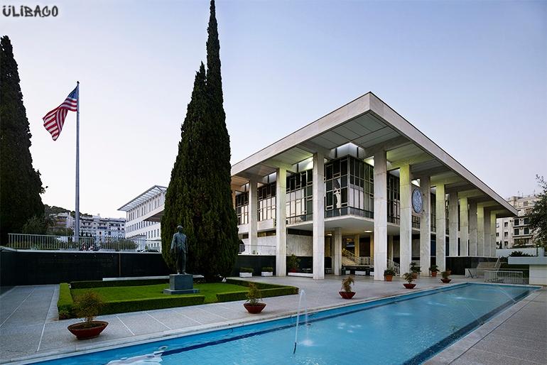 Вальтер Гропиус Американское посольство Афины 6