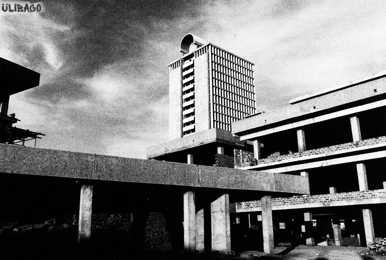 Вальтер Гропиус комплекс Багдадского университета 1