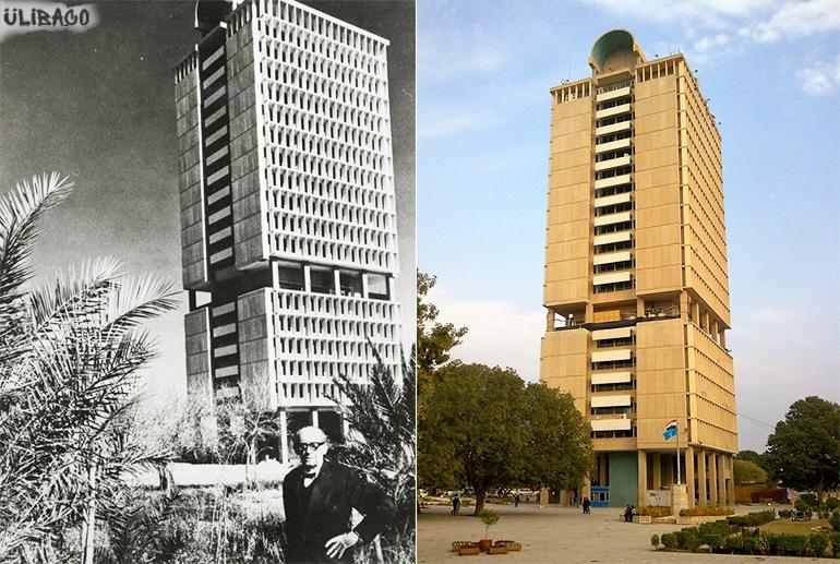Вальтер Гропиус комплекс Багдадского университета 2