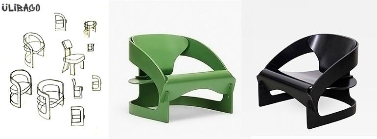 Джоэ Чезаре Коломбо Lounge Chair