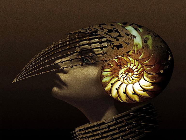 Казухико Накамура японский CG-художник сюрреалистичный стимпанк 21